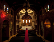 Stanford Memorial Church Light & Sound from Sunrise to Sunset